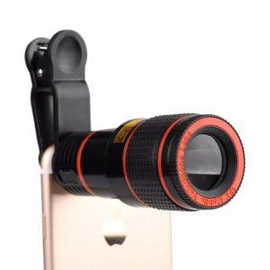 QX9 HD Zoom - l'apparence et les fonctions de base de la lentille