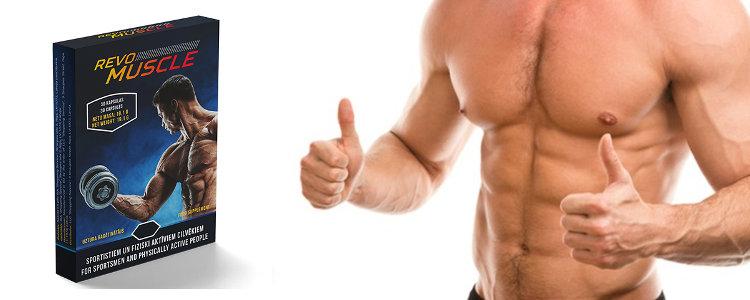 RevoMuscle - des ingrédients naturels d'additifs alimentaires sur les muscles