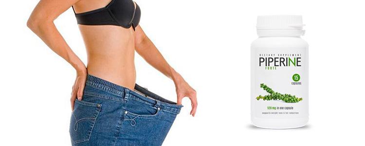 Perdre du poids sans effort et sans victimes avec Piperine Forte
