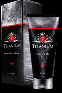 Titanium - gel naturel pour l'agrandissement du pénis