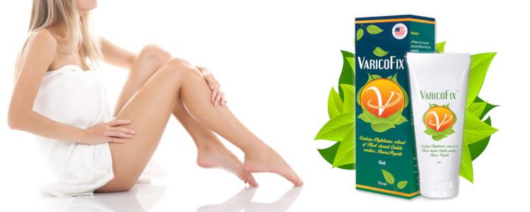 Varicofix - ingrédients naturels, pas d'effets secondaires