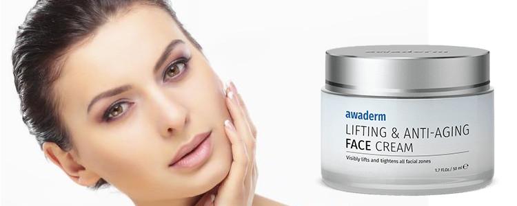 Avis d'utilisateurs de Awaderm Face Cream. Commentaires sur le forum