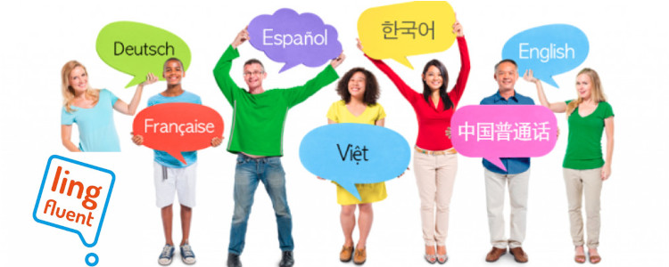 Par Ling Fluent, vous pouvez apprendre des langues étrangères, littéralement, partout!